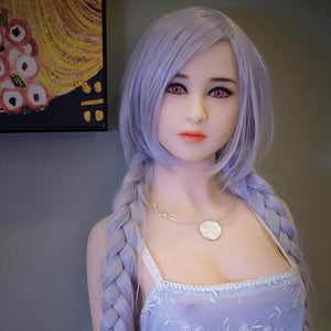 Japan 158CM simulation anime purple pupil purple hair fantasy sex doll Huanyan - lovedollshops.com