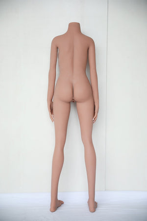 Jarliet 156cm Japanese small breasts and small eyes slim tan short hair sex doll Li Yang - lovedollshops.com