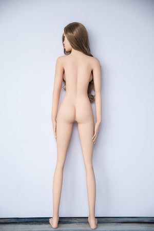 Jarliet 157cm B cup small breasts Asian face slim sexy real doll-Ling - lovedollshops.com