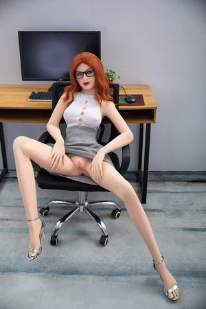 Jarliet 157cm B cup small breasts muture long legs sex doll-Lucy - lovedollshops.com