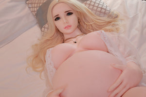 JY 160cm blonde plump pregnant sex doll Nanxi - lovedollshop