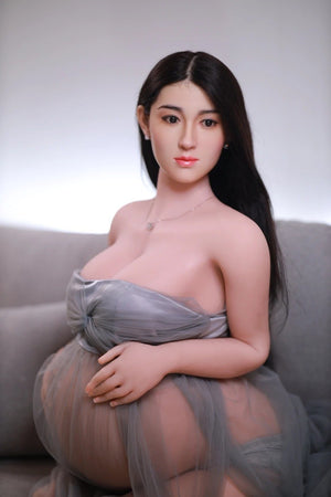 JY 160cm Pregnant Sex Doll with Silicone Head Dora - realdollshops.com