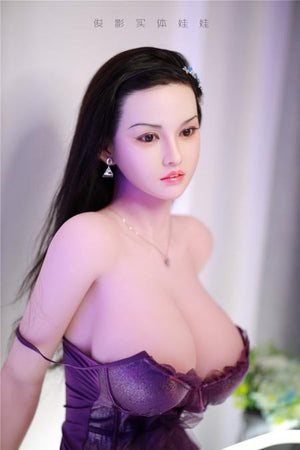 JY Asia 161cm lifelike and dignified and beautiful silicone head hair transplant sex doll – Fairy - lovedollshops.com