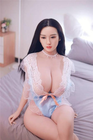 JY China Realistic silicone head sex doll with huge breasts – Shihuan - lovedollshops.com