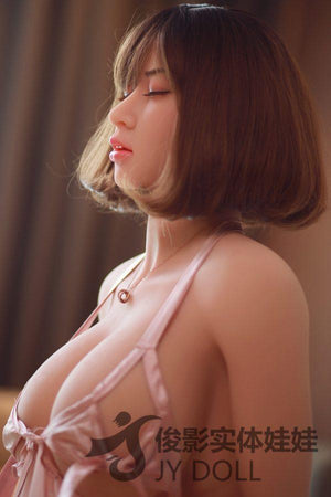 JY165cm Asian Closed Eyes Fat Plump Curvy Sex Doll – Linair - lovedollshops.com