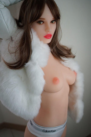 Piper Doll - 162cm Sexy Pink Plonde Puropean Sexy Small Boobs Jenna Sex Doll - lovedollshop