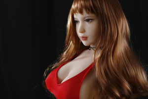QITA 100cm E cup red dress blonde big breast QiAi - lovedollshop