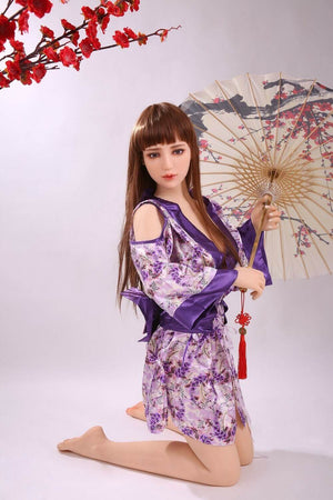 QITA 158cm E cup big breast Japanese sex doll Lilac - lovedollshop