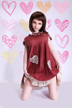 Sanhui 145cm silicone short hair beaitiful big boobs sex doll-Meiqin - lovedollshops.com