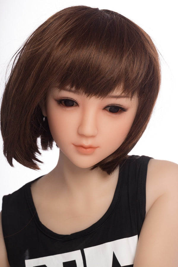 SanHui 145cm Small Breasts Short Hair Sex Doll--Mixi - lovedollshops.com
