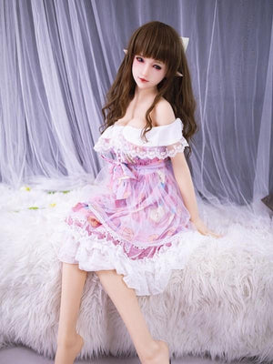 SanHui 156cm Asian Lolita big breasts pure sex doll-Jihui - lovedollshops.com