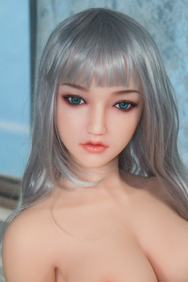 SanHui 158cm silver hair big breasts sexy sex doll-Shuangxian - lovedollshops.com