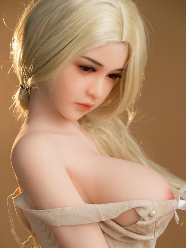 SanHui 168cm blond hair TPE big breasts sex doll -Kirary - lovedollshops.com