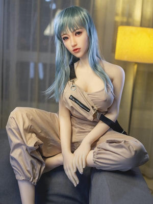 SanHui 168cm blue hair big breasts sex doll-Hexue - lovedollshops.com
