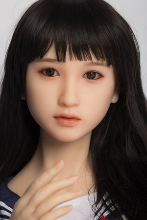 SanHui Japan 156cm small breasts silicone young sex doll-Liqin - lovedollshops.com