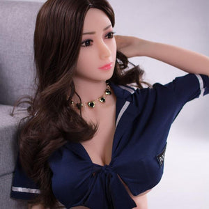 Sexy Asian Mature Female Doll Uniform Big Tits 158cm-Li Sa - lovedollshops.com