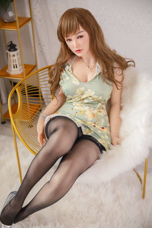 Sino Doll 160cm E cup green shy sex doll Lin Jiujiu - lovedollshop