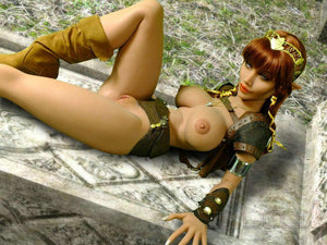 YL 148cm Fantasy Warrior Sex Doll Farah - realdollshops.com