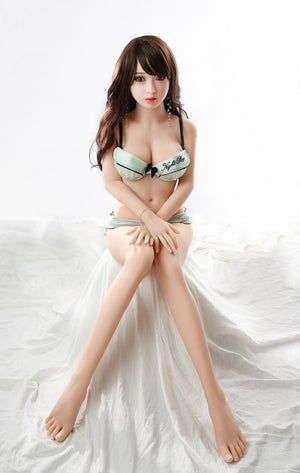 Youqu Asian140cm C cup medium breasts curvy petite sex doll-Yuchi - lovedollshops.com