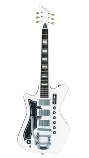Eastwood Guitars Airline 593P DLX White LH Angled