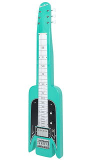 Eastwood Guitars Airline Lap Steel Seafoam Green Angled