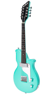 Eastwood Guitars Airline Mandola Seafoam Green Angled