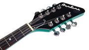 Eastwood Guitars Airline Mandola Seafoam Green Headstock