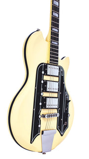 Eastwood Guitars Airline 59 Town & Country STD Vintage Cream Player POV