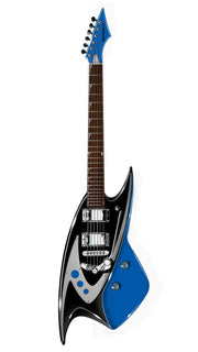 Eastwood Guitars Backlund 400 DLX Blue Angled