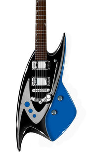 Eastwood Guitars Backlund 400 DLX Blue Featured