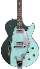 Eastwood Guitars Backlund Rockerbox II DLX Cadillac Green Featured