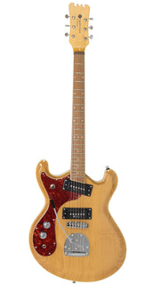 Eastwood Guitars Sidejack PRO JM LH Natural Angled