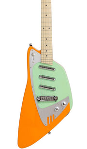 Eastwood Guitars Backlund Katalina Orange and Mint Featured