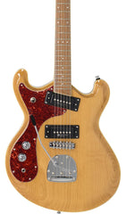 Eastwood Guitars Sidejack PRO JM LH Natural Featured