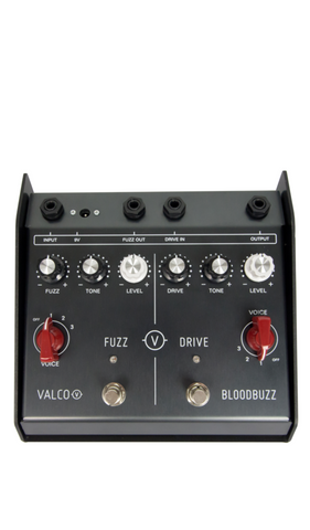 Eastwood Guitars VALCO BloodBuzz Pedal Black Featured