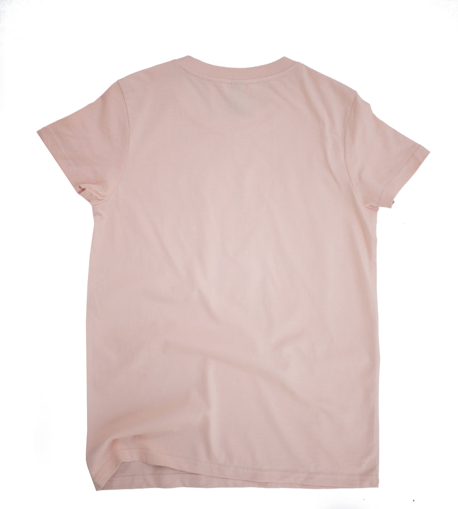 Support Your Girls Tee - Blush / White
