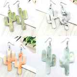 NEW Lovely Cactus Stud Earrings Lovely Cat Shaped Stud Earrings Plant Jewelry For Women Girl Gift Stud Earrings