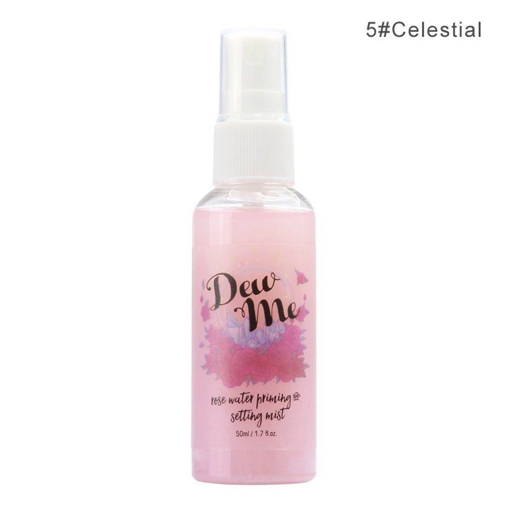 Makeup Setting Spray Matte Finish Bottle Setting Spray Oil-control Natural Long Lasting Make Up Fix Foundation Spray
