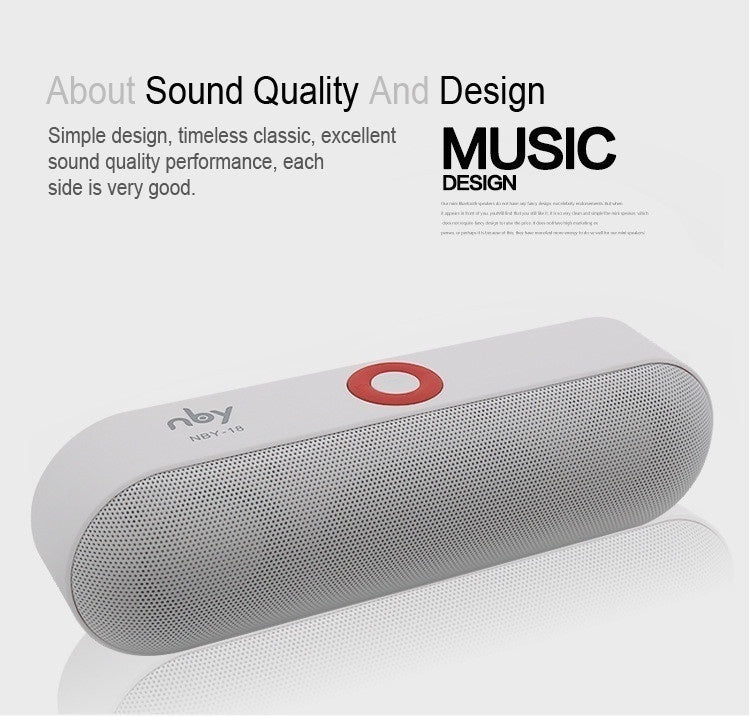 Bluetooth Speaker Portable Wireless Speaker Sound System 3D Stereo Music Player FM USB TF Card Radio Subwoofer