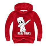 New Children's Wear Hoodie DJ Marshmello Mask Music Boys Long Sleeve Hoodie Kids Casual Cotton Hooded Sweatshirts for Boys/Girls