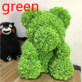 Flowers Bear Doll 25CM/40CM Bear of Artificial Roses Valentines Gift Birthday Gift Gift