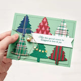 Christmas tree Metal Cutting Dies and stamps DIY Scrapbooking Card Stencil Paper Craft Handmade Album Handbook Home Decor