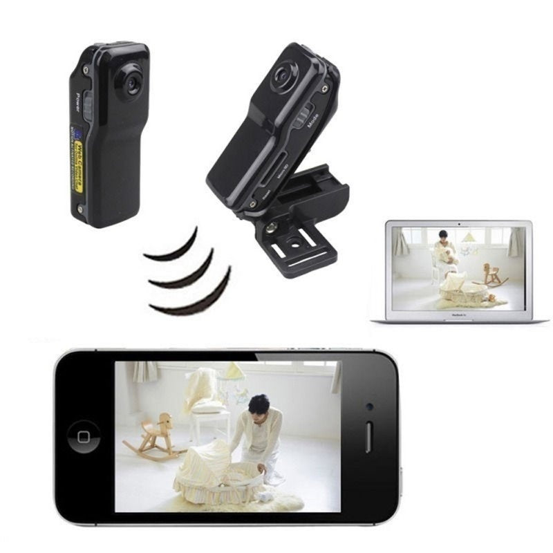 Smallest HD Mini MD80 Camera Wireless IP Dv Dvr Video Record Camcorders (Size: MD80 Without Wifi Camera)