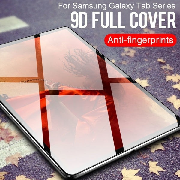9H HD Screen Protector For Samsung Galaxy Tab S6 S5E S4 S3 S2 S 10.5 S 8.4 Advanced 2 A 10.1 A 9.7 A 8.0 Active 8.0 A A6 A A2 E 8.0 E 9.6 Full Coverage Tempered Glass Flim For Galaxy Tab 4 10.1 8.0 7.0 Lite 7.0 3 10.1 8.0 7.0 Lite 7.0 2 10.1 7.0 Note 10.1