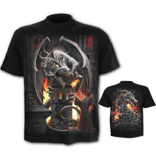 Load image into Gallery viewer, Mens Funny Graphic Shirt Dragon Skull 3D Printed T-Shirts Casual Tops Short Sleeve Tees