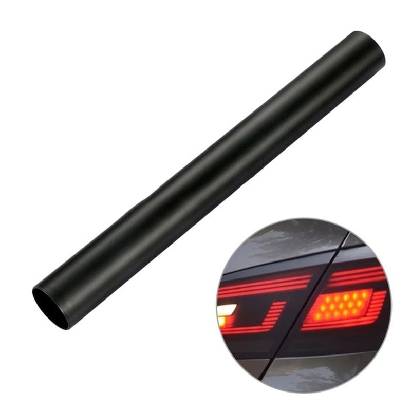 New 1pcs 30*150cm Matte Black Car Headlight Taillight Fog Lamp Sticker