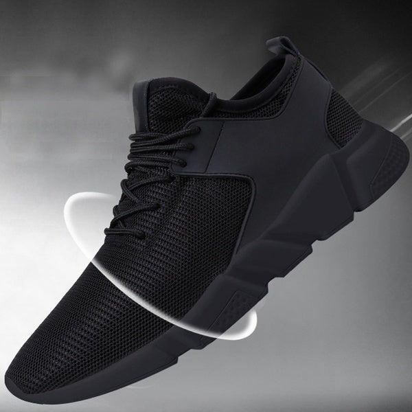 Size 36-46 Women/Men Casual Sport Sneakers Breathable Mesh Running Shoes For Couples Black Trainers
