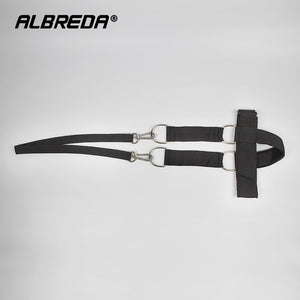 ALBREDA Cowhide head and neck  weight Lifting grip bearing cap The shoulder muscle Weight Training Can bring Weight plate