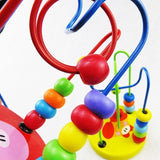 Educational Baby Kids Wooden Around Beads Toddler Infant Intelligence Toys Gifts