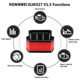 KW903 ELM327 WIFI / Bluetooth OBD Car Fault Diagnosis Scanner for Android / IOS